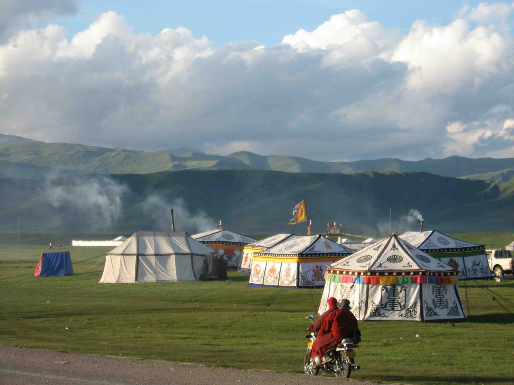 nomad-tents-at-festival-by-Mayul-School-Project