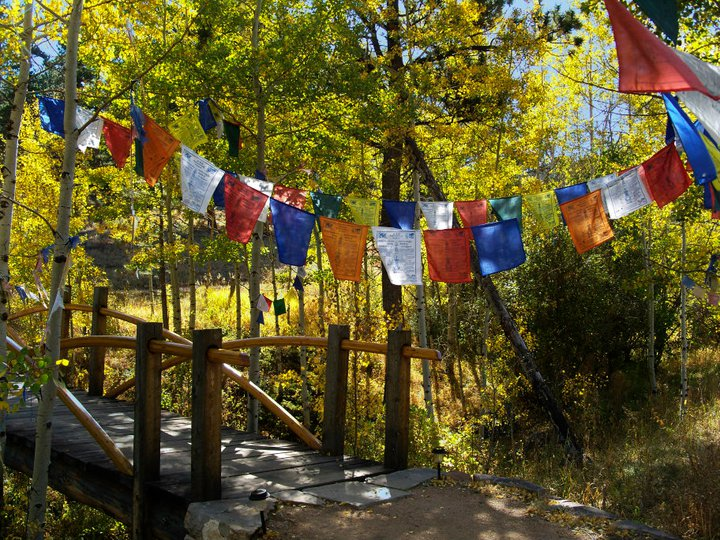 Fall prayer flags by Greg Smith
