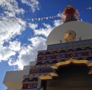 Stupa at SMC