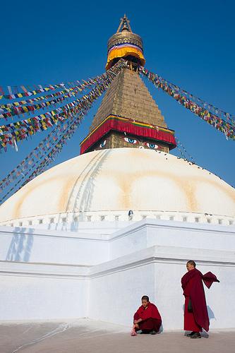 photo credit: Bodnath Stupa, Nepal via photopin (license)