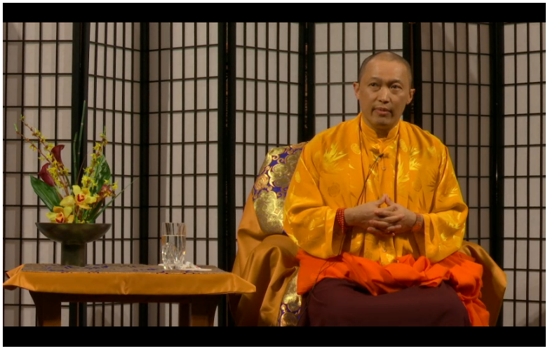 Sakyong Mipham Rinpoche in Chicago