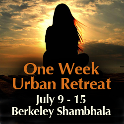 Week long meditation retreat