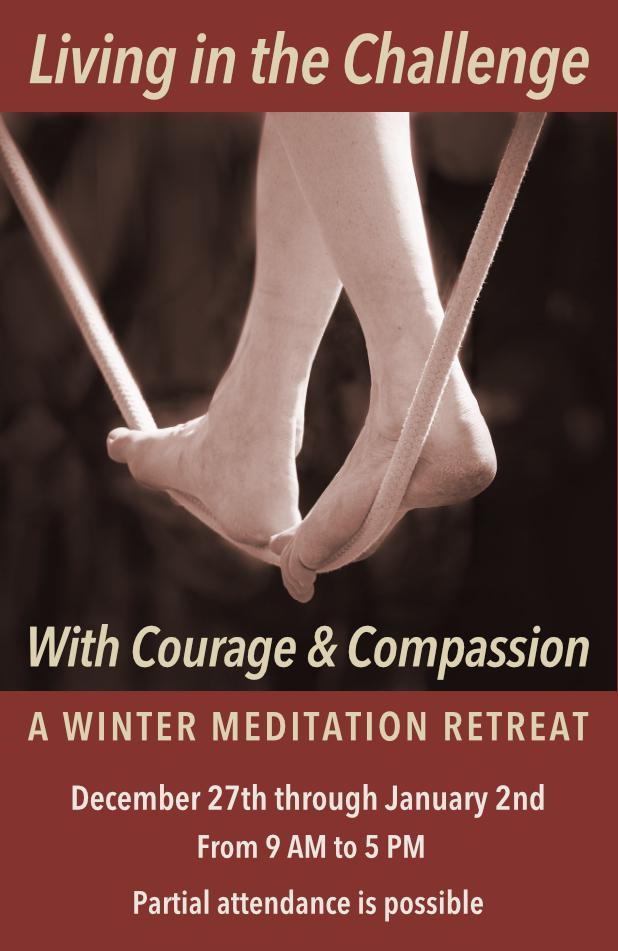 Living in the Challenge Meditation Retreat